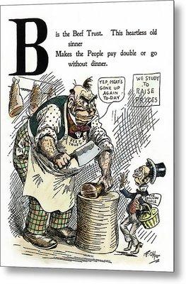 Cartoon Anti-trust, 1902 Metal Print by Granger