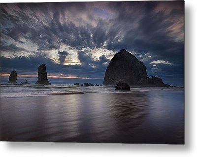 Clearing Storm Metal Print by Andrew Soundarajan