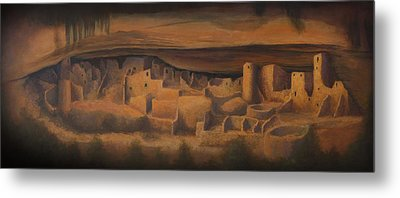 Cliff Palace Metal Print by Jerry McElroy