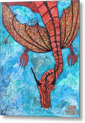 Cloud Walker. Metal Print by Ken Zabel