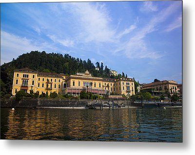 Como Lake Metal Print by Roberto Adrian