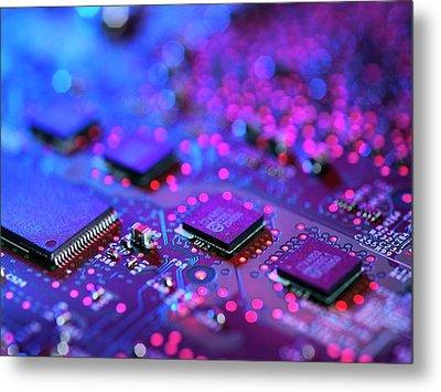 Computer Hardware Metal Print