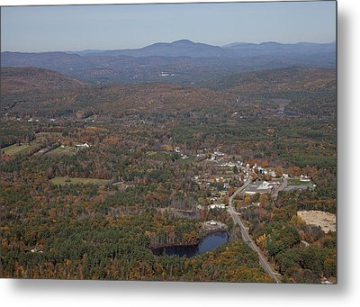 Concord Outskirts, New Hampshire Metal Print by Dave Cleaveland