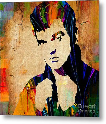 Conway Twitty Collection Metal Print by Marvin Blaine