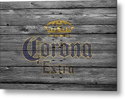 Corona Extra Metal Print by Joe Hamilton