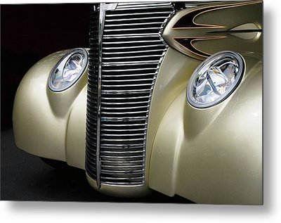 Metal Print featuring the photograph Custom Car Detail by Dave Mills