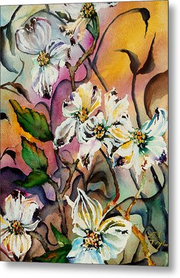 Dance Of The Dogwoods Metal Print by Lil Taylor