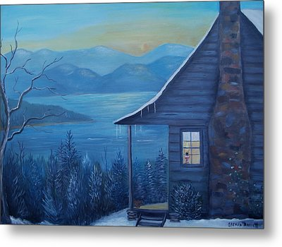 Daybreak Metal Print by Glenda Barrett