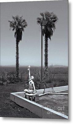 Desert Oasis Metal Print by Gregory Dyer
