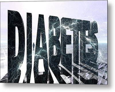 Diabetes Metal Print