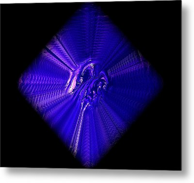 Diamond 201 Metal Print by J D Owen