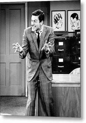 Dick Van Dyke In The Dick Van Dyke Show  Metal Print by Silver Screen