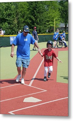 Disabled Baseball Game Metal Print
