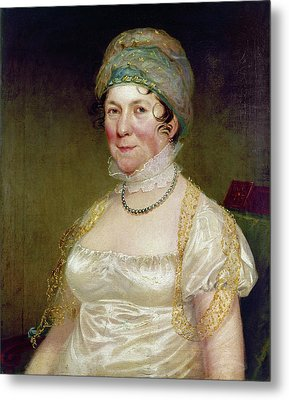 Dolley Payne Todd Madison (1768-1849) Metal Print by Granger