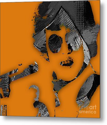 Donovan Collection Metal Print by Marvin Blaine