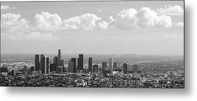 Downtown Of Los Angeles Metal Print by Viktor Savchenko