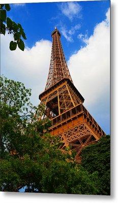 Eiffel Tower Paris France Metal Print by Patricia Awapara