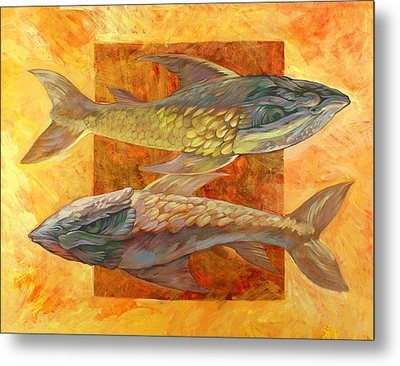Fish Metal Print by Filip Mihail