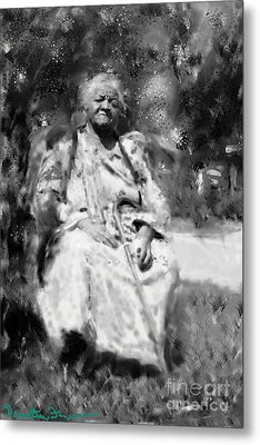 Former Slave Woman Metal Print