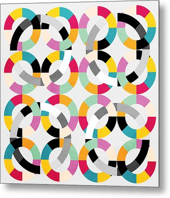 Geometric  Metal Print by Mark Ashkenazi