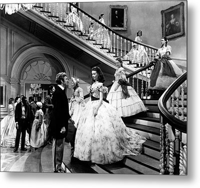 Gone With The Wind  Metal Print by Silver Screen