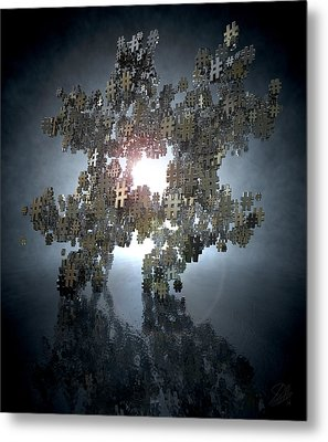 Hashtag Concept Metal Print by Allan Swart