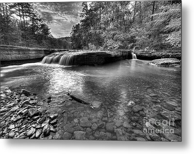 Haw Creek Falls Metal Print