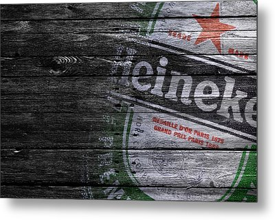 Heineken Metal Print by Joe Hamilton