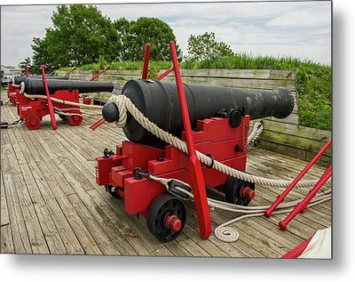 Historic Fort Mchenry, Birthplace Metal Print