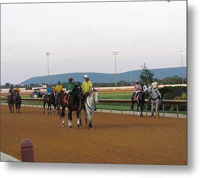 Hollywood Casino At Charles Town Races - 12121 Metal Print by DC Photographer