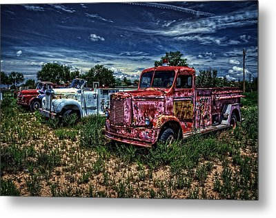 Metal Print featuring the photograph 3 In A Row by Ken Smith