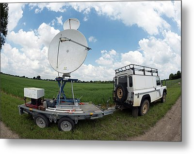 Insect Radar Research Metal Print by Louise Murray