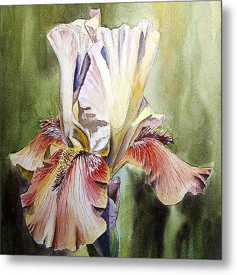 Iris Painting Metal Print