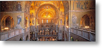 Italy, Venice, San Marcos Cathedral Metal Print