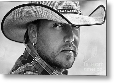 Jason Aldean Metal Print by Marvin Blaine