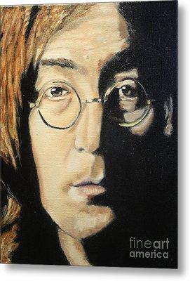 John Lennon Metal Print by Michael Kulick