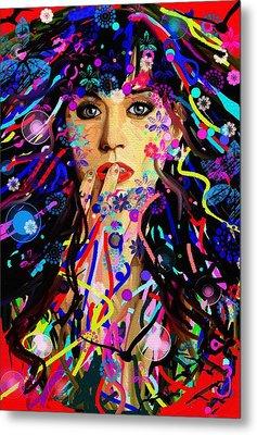 Katy Perry Metal Print by Bogdan Floridana Oana