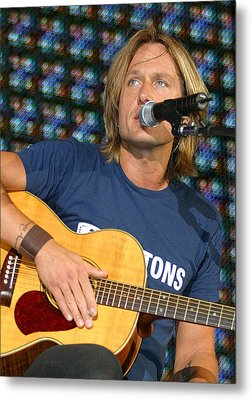 Keith Urban Metal Print by Don Olea