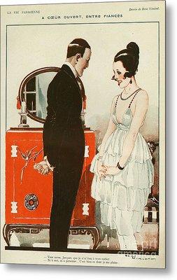 La Vie Parisienne 1919 1910s France Cc Metal Print by The Advertising Archives
