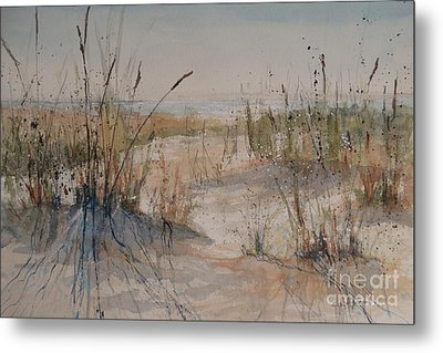 Lake Michigan Dune Metal Print
