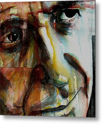 Leonard  Metal Print by Paul Lovering