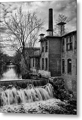 Metal Print featuring the photograph Little River Dam by Betty Denise