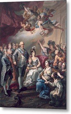 Lopez Y Porta�a, Vicente 1772-1850 Metal Print