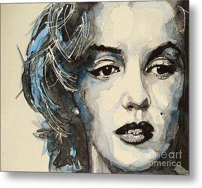 Marilyn Metal Print by Paul Lovering