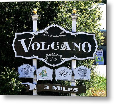 3 Miles To Volcano Metal Print by Joseph Coulombe