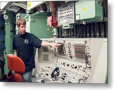 Minuteman Missile Control Room Metal Print