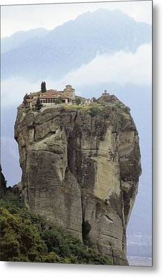Monastery Of The Holy Trinity Hagia Metal Print by Everett