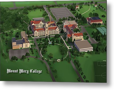 Mount Mary College  Metal Print