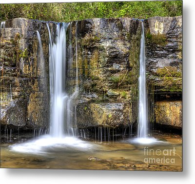 Natural Dam Falls Metal Print by Twenty Two North Photography