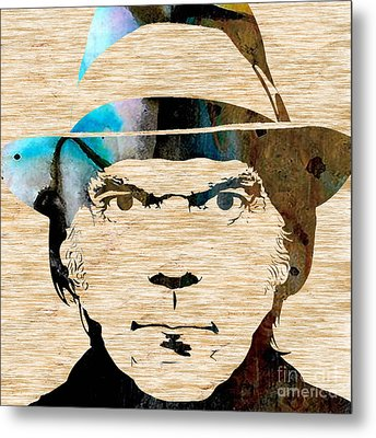 Neil Young Metal Print by Marvin Blaine